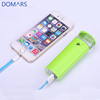 Mobile Battery Charger for Lady Nano Water Spray Power Bank 2600mAh Gift