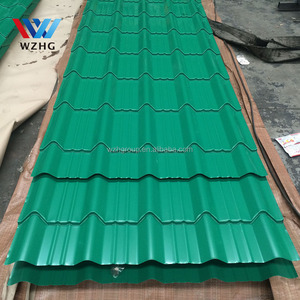 Roofing, siding panels, shutters, warehouse and pre-fabricated houses Application and Steel Plate Type color from china supplier