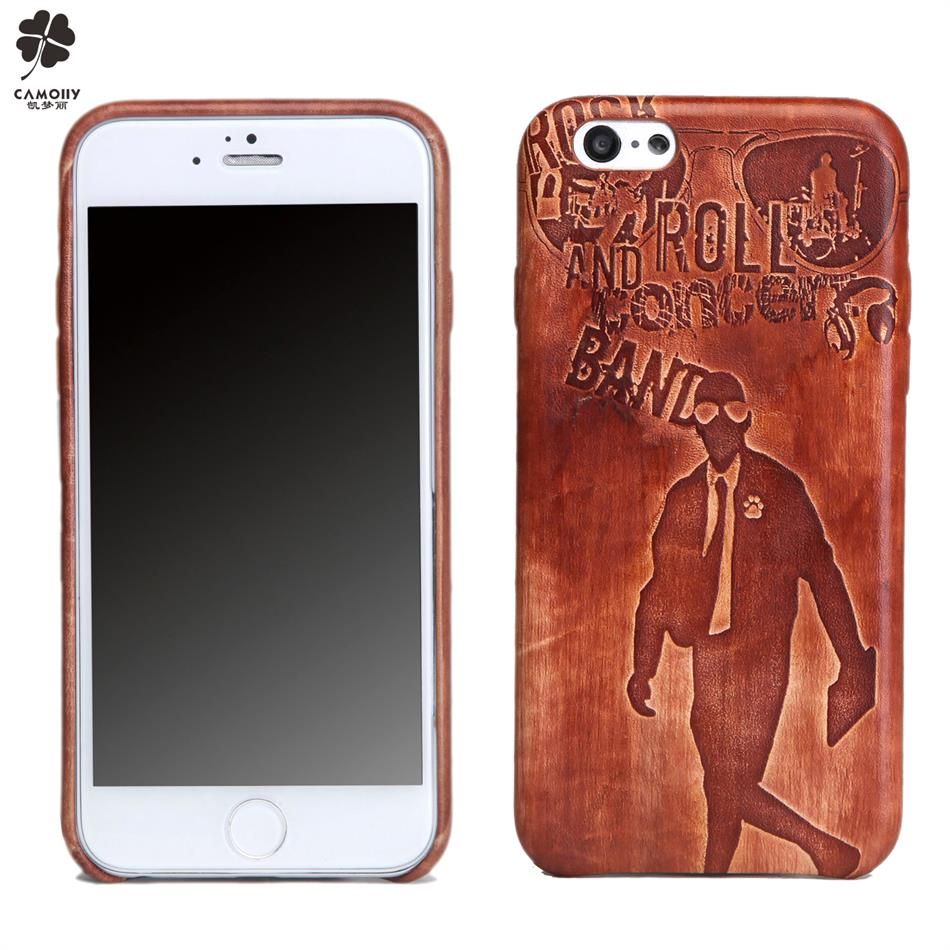 Guangzhou leather factory for vegetable tanned cow skin for handmade burnish logo iphone 6s back cover