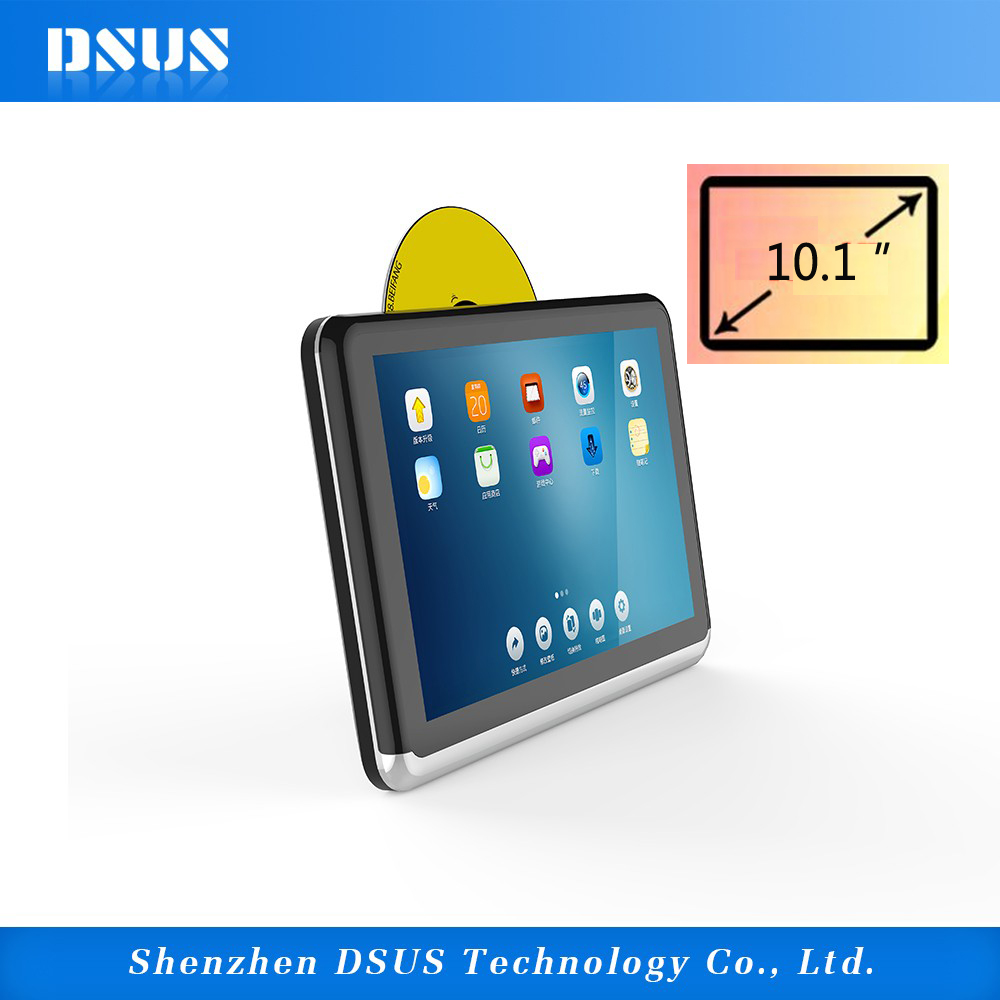 Shenzhen new arrival in-car entertainment system childen car portable dvd player with wifi