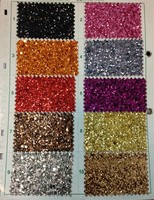 decoration wallpaper or wall colvery chunky glitter fabric