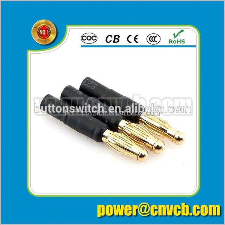 DC male power jack 3 pin 1.0mm,1.3mm DC-006C dc jack connector