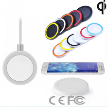 Mini round wireless charger pad for all USB charging devices