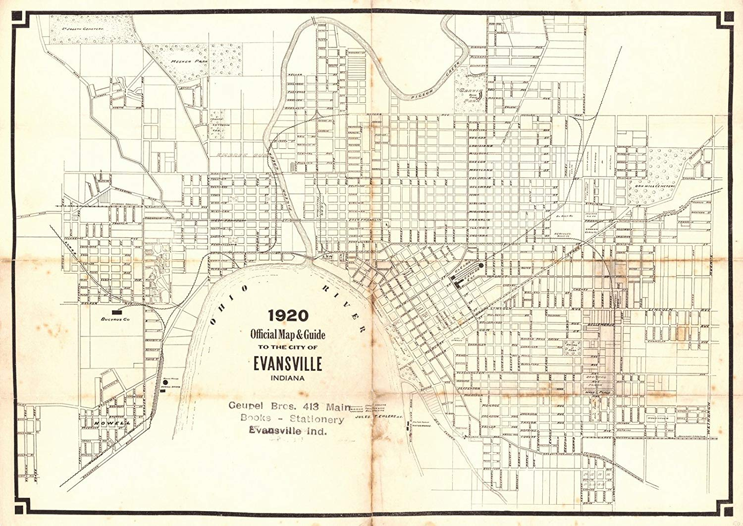 Cheap Map Of Evansville In Find Map Of Evansville In Deals On Line At Alibaba Com