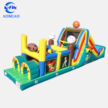 Hot sale Inflatable Sport Jumping Obstacle Course Kids Obstacles Equipment