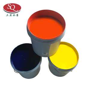 Plastic water-based ink for flexographic printing press raw materials