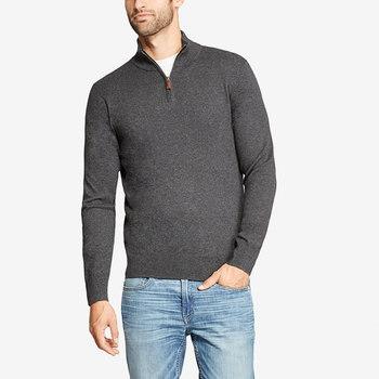 Ein halb reißverschluss neue männer Winter 100% kaschmir hochwertige pullover  pullover a44d78465c