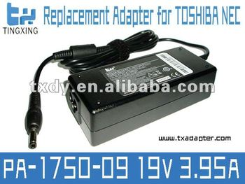 Replacement AC laptop adapter charger for Toshiba Satellite M60 M65 90w laptop ac adapter 19v 3.95A