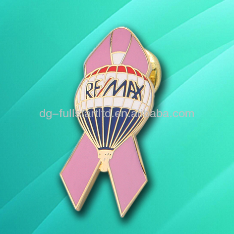 Metal pin for Aids association