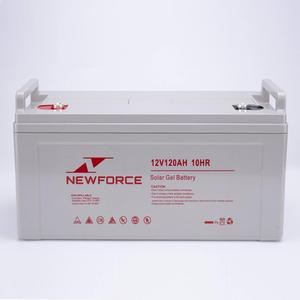 Guangdong professional 12v 120ah exide lead acid deep cycle battery