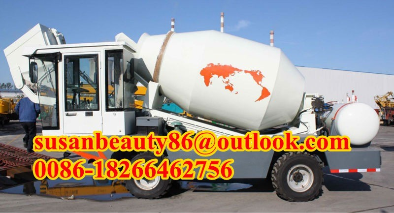 mobile concrete batching truck with CE