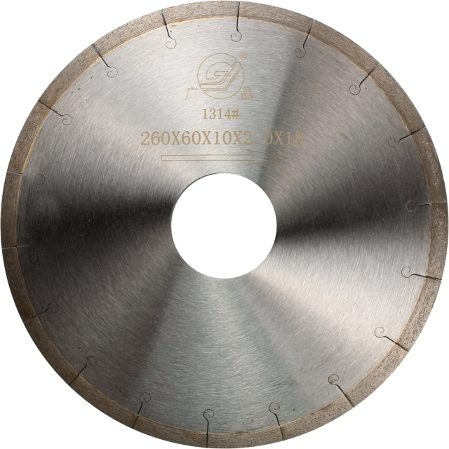 Top grade 7 inch 190mm diamond cutting saw blade for hard porcelain Dekton Neolith