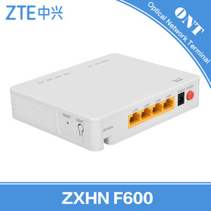 ZTE ZXHN F600 GPON EPON ONU Optical Network Unit/ONT Mini Wifi Router