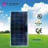High efficiency 100w poly solar panel made in japan