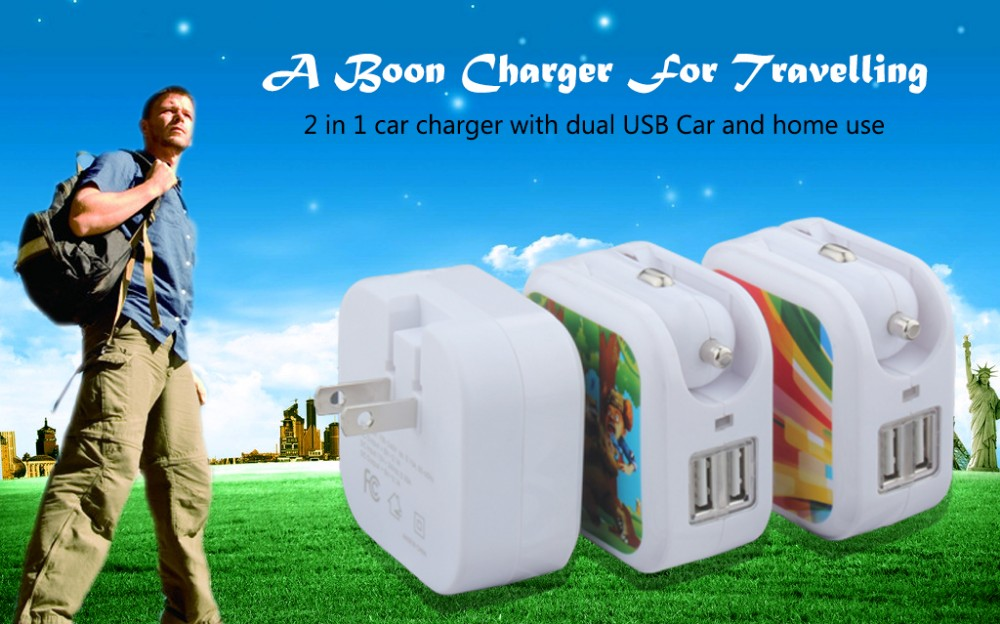 Multi Cellphone Car Charger For Apple Iphone/Iphone 6/Ipad/Samsung Charger