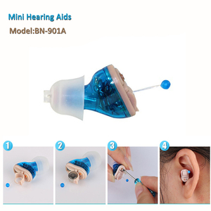 Digital Intelligent ing CIC hearing aids invisible mini portable for Old people