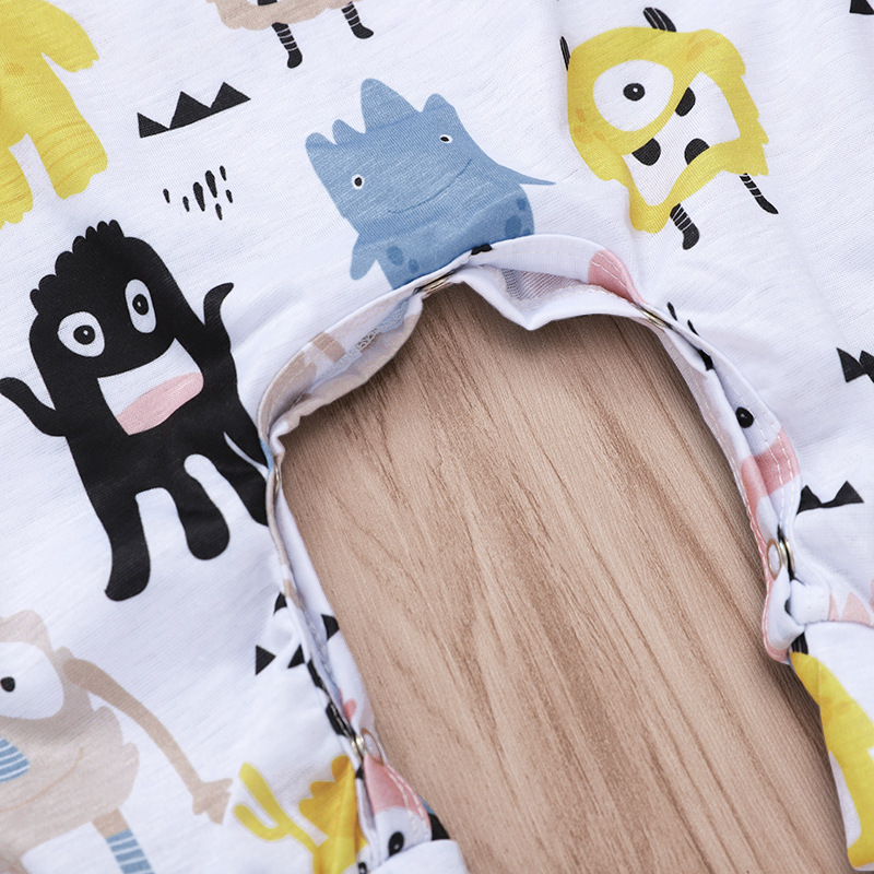 Hot sell organic cotton Cartoon character infant newborn clothes baby rompers set jumpsuit