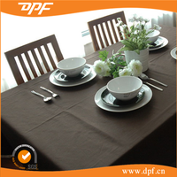 2016 professional design party Polyester Square Table Cloth Cover