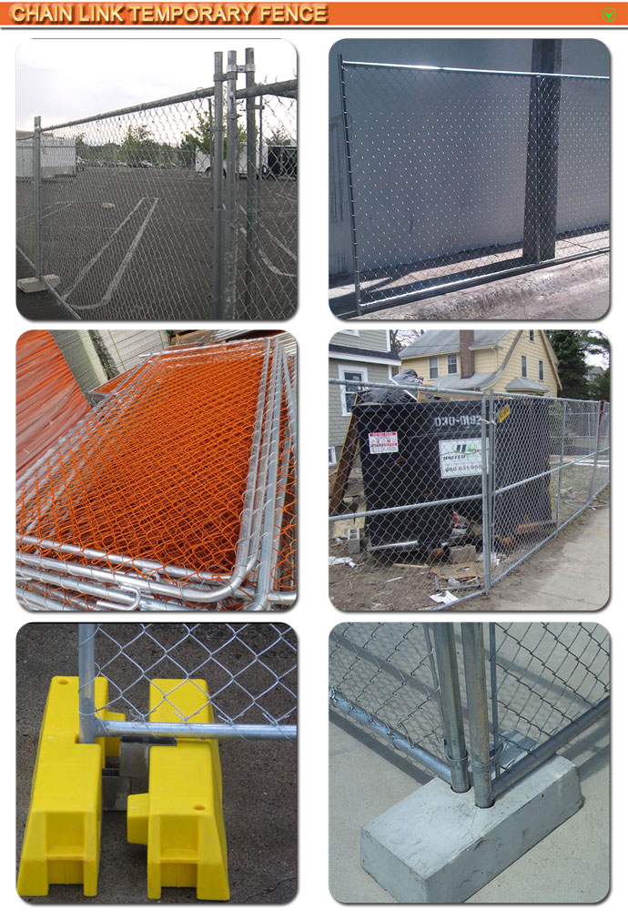 Cheap temporary construction chain linkfence/chain link temporary fence/temporary chain link fence