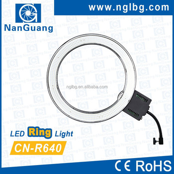 Nanguang CN-R640 Dimmable LED Ring light ring eyelight LED circle ring light