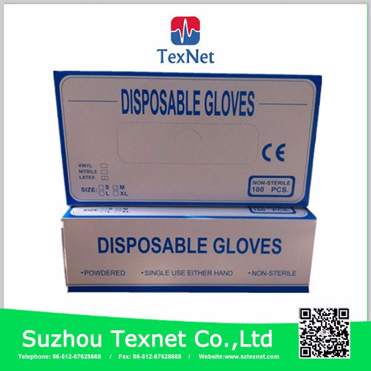 Favtory Supply Factory manufactured latex surgical gloves malaysia