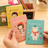 Mini Notebook 12 * 8.5cm Creative Cute Cartoon Notes This, Student Diaries, 20 Kinds Of Styles Optional Cartoon Brochure