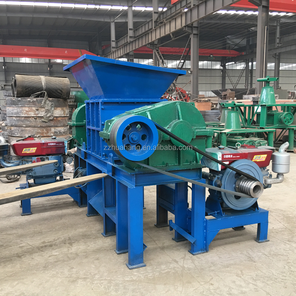 2018 new style reliable reputation easy to use Shredder Machine price with Diesel Engine