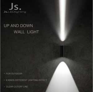 Professional 3 years warranties leaf wall lamp