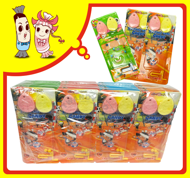 Football Games Fruity Flavor Press Candy