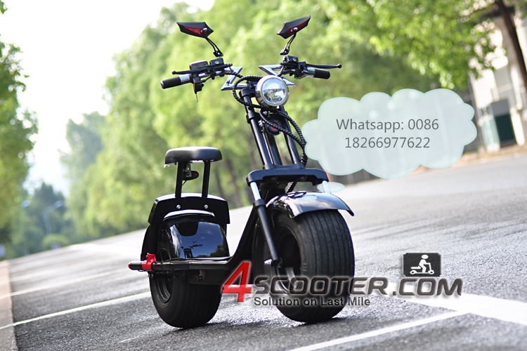 Manufacture Max Speed 50KM/H Two Wheels Electric Scooter 800w Citycoco Self Balancing For Adult 60V Lithium Battery
