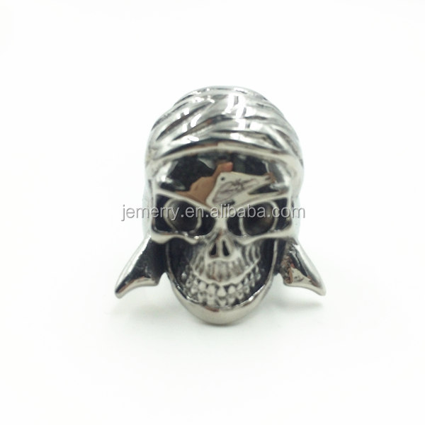 Skull Rock Rings Wholesale Fashion Men Ring 316L Stainless Steel Rings For Men Jewelry