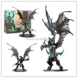 DC WOW World of Warcraft ILLIDAN Stormrage Demon Form Deluxe Collector Figure Toy action figure