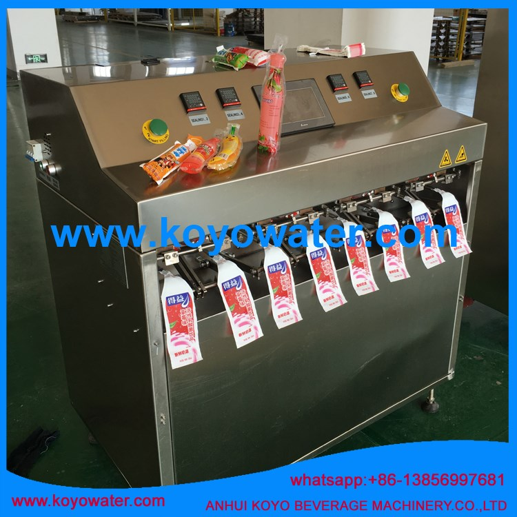 biodegradable stand up pouch/water sachet/juice filling machine