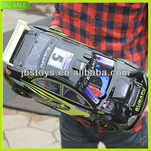 Hot selling 1:10 scale 4 wheel gas rc toy car for kids