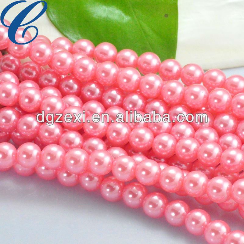 Big Value! Faux Pearl Round Plastic Bead