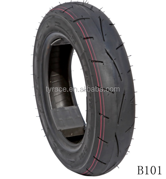 Slick motorcycle tires good quality 90/90-10 3.50-10