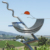 Modern Outdoor Large Stainless Steel Sculpture For Garden