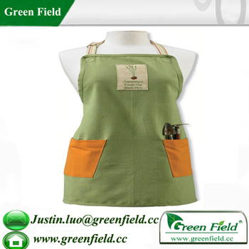 Green Field Ladies Garden Apron