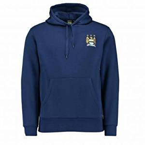 Get Quotations · Official Manchester City Crest Hoodie 4ff8ae8a3