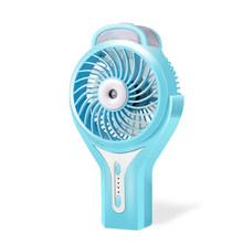 Летний Мини распыляющий увлажнитель, портативный электрический вентилятор, перезаряжаемый кондиционер, охлаждающий вентилятор для рабоче...(Китай)
