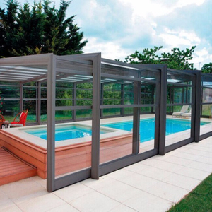 Warmer water in your pool fencing or inground upground pool enclosure dome