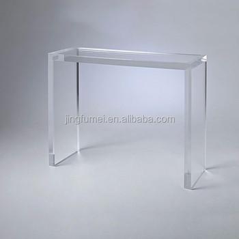 Modern Glass Top Dining Table Custom Acrylic Console Table Legs Dongguan  Shenzhen China   Buy Glass Table,Console Table Modern,Acrylic Table Legs ...