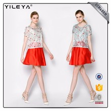 Oem Services High Waist Solid Color Women Short Skirt