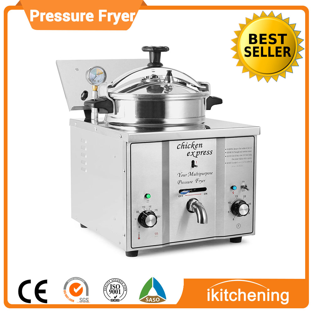 MDXZ-16 Electric Counter Top Pressure Fryer