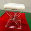 bar step plexiglass acrylic stool plylucent