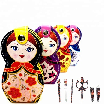 Russian Doll Manicure & Pedicure Nail Gift Kit