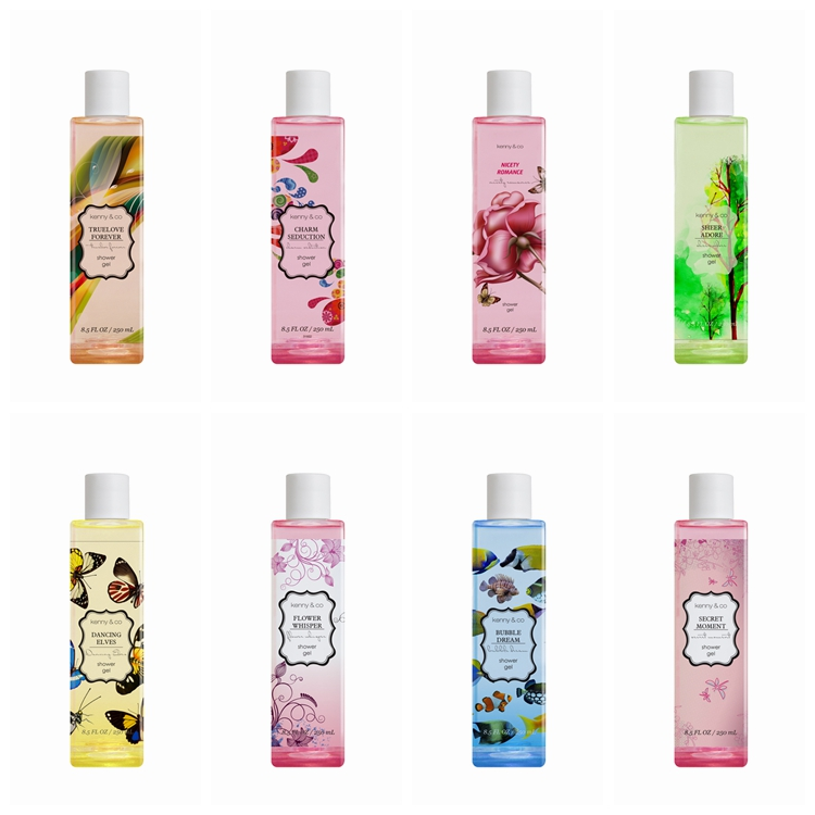 wholesale Adults Age Group and perfume Liquid Form bath shower gel