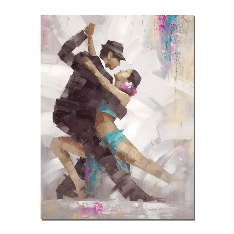 100 pure handmade color pigments for two Latin dances Spanish Dancer Oil Painting Picture Wall Art