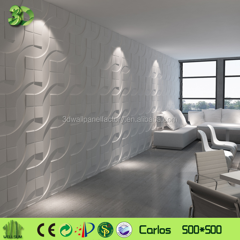 Wholesale Resin / Leather 3D Wall Panel For Home Or Office Decoration