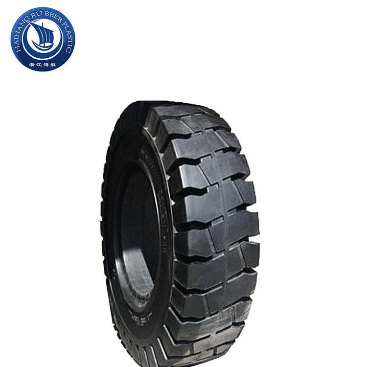 Most popular good product skid steer solid 18x7x8 forklift rubber tires
